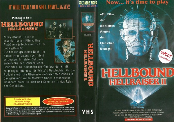 Hellraiser 2 - Hellbound (Solitaere Video)
