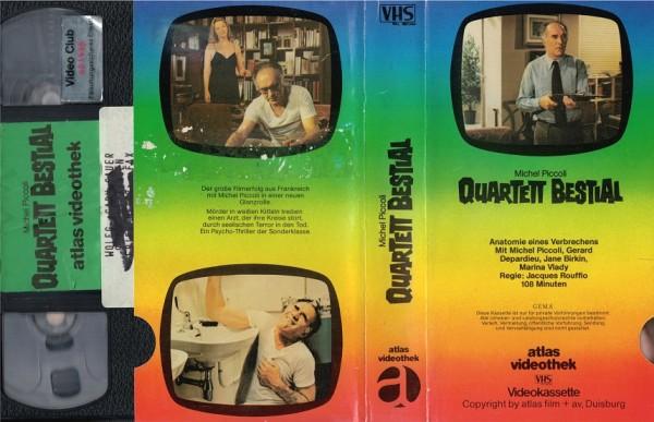 Quartett Bestial (Glasbox Tele-Motiv)