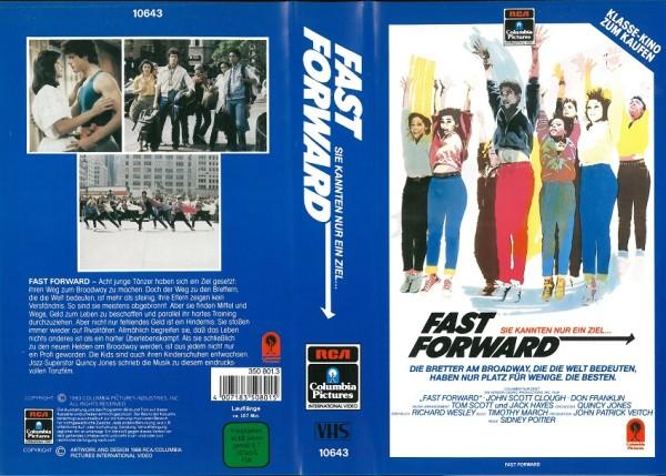 Fast Forward - Sie kannten nur ein Ziel (RCA blau) NEU
