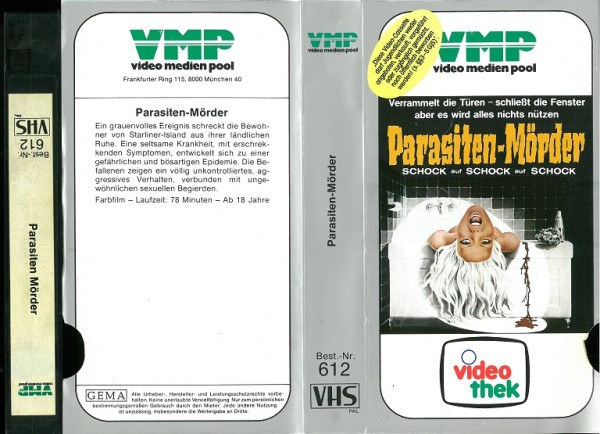 Parasiten-Mörder - Parasitenmörder (VMP Glasbox) Blaupunkt Vorspann