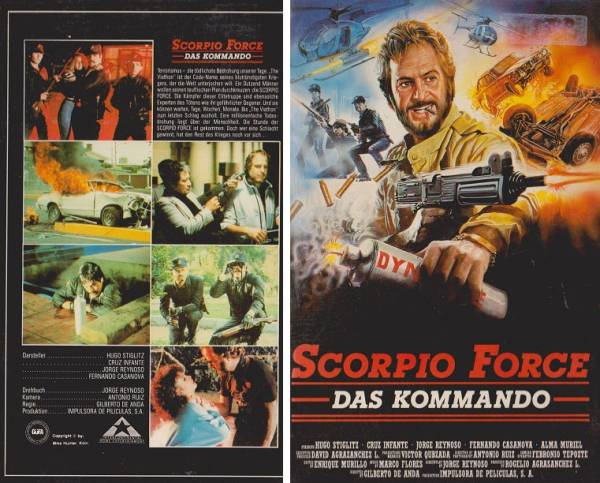 Scorpio Force - Das Kommando