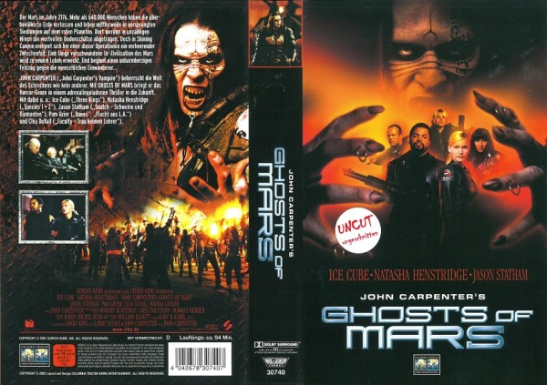 Ghosts of Mars - John Carpenter´s