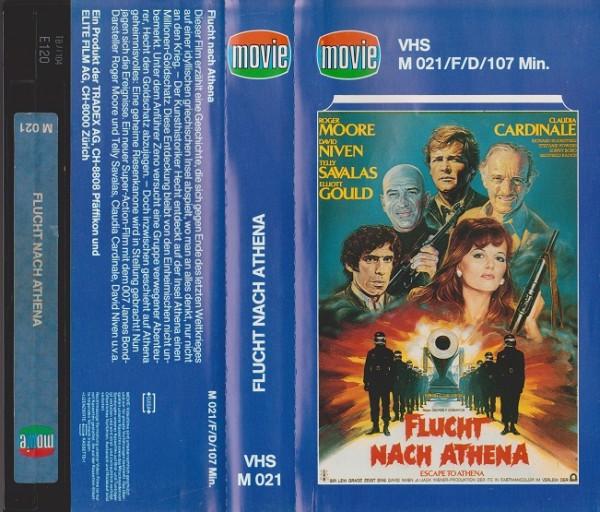 Flucht nach Athena (Movie Glasbox)