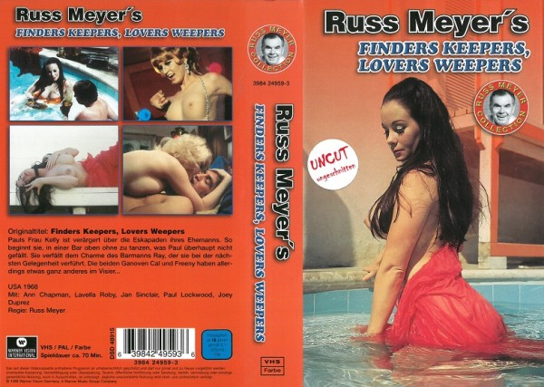 Finders Keepers, Lovers Weepers - Null Null Sex - Russ Meyer