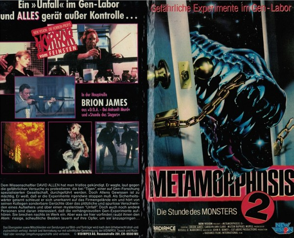 Metamorphosis 2 - Die Stunde des Monsters (Hartbox)