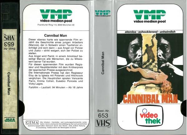 Cannibal Man - Die Woche eines Mörders (VMP Glasbox)