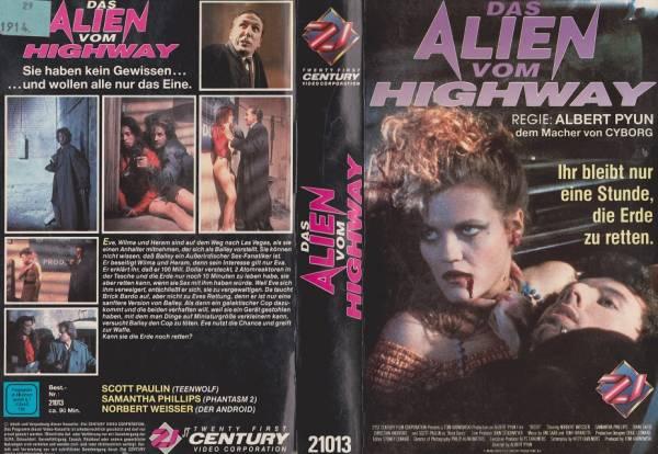 Alien vom Highway, Das (Hartbox)