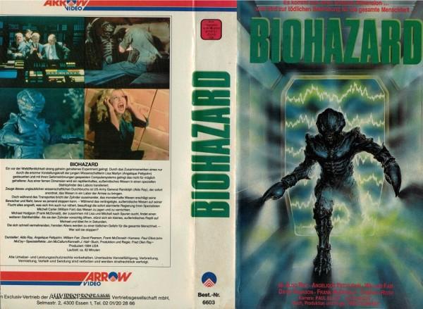 Biohazard - Monster aus der Galaxis