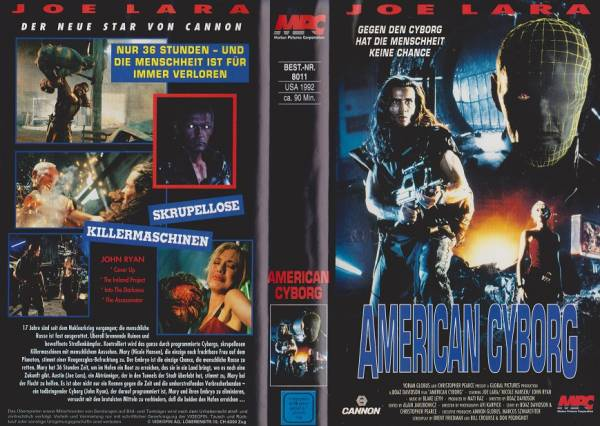American Cyborg - Steel Warrior