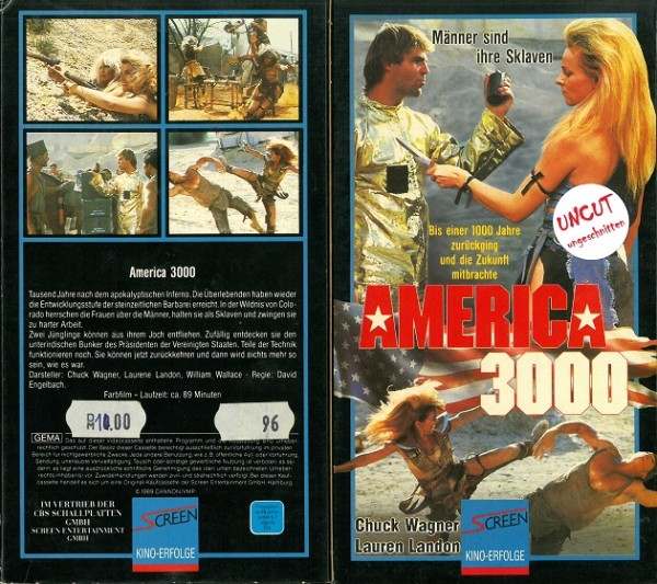 America 3000 (Screen / Cannon Pappschuber)