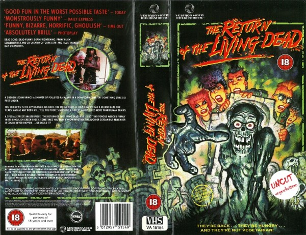 Return of the Living Dead, The - Die Rückkehr der lebenden Toten (Vestron Video UK Import)