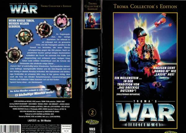 Troma´s War / Tromas War - Club War (Director´s Cut)