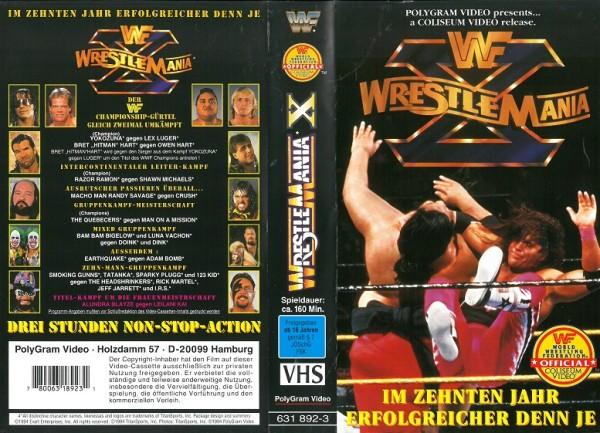 Wrestlemania X (WWF Wrestling)
