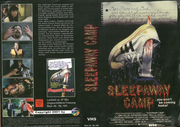 Sleepaway Camp - Das Camp des Grauens (Video World)