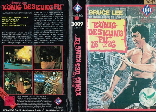 Bruce Lee - König des Kung Fu - Hartbox