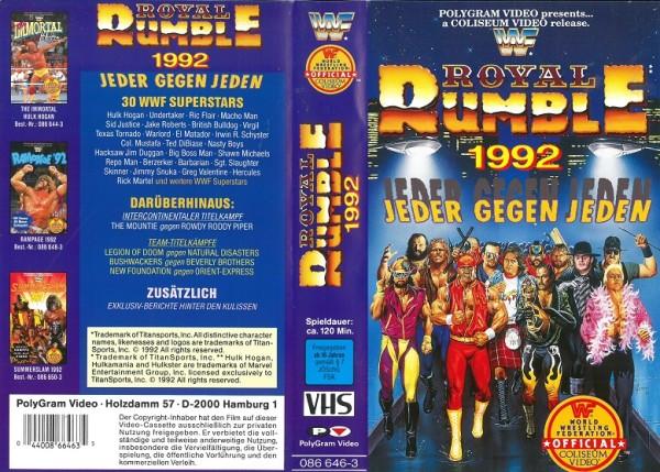 Royal Rumble 1992 (WWF Wrestling)