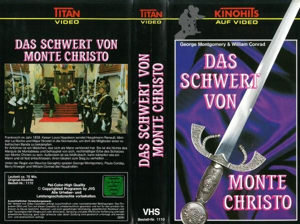 Schwert von Monte Christo, Das (Titan Video)