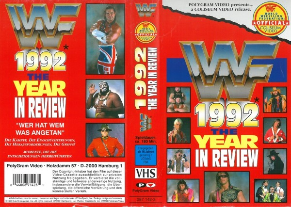 1992 - The Year in Review (WWF Wrestling)