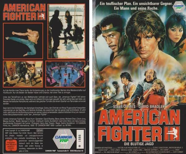American Fighter 3 - Die blutige Jagd (Hartbox)
