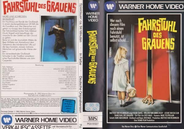 fahrstuhl des grauens de lift vk ea horror alle videos fsk 0 fsk 18 film retro. Black Bedroom Furniture Sets. Home Design Ideas