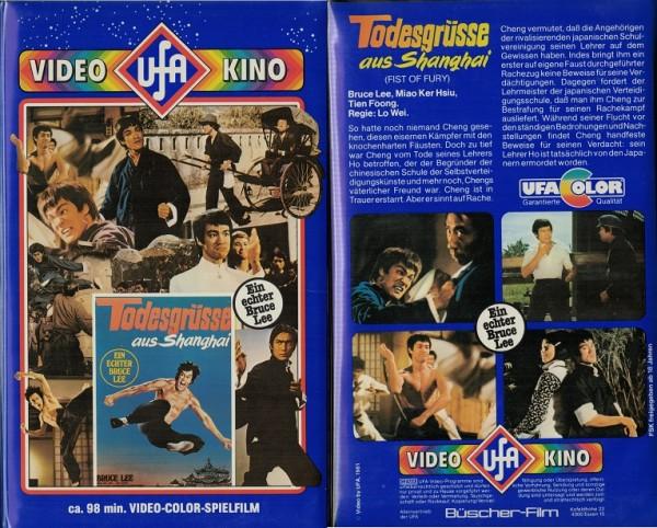Todesgrüsse aus Shanghai - Bruce Lee (Softbox VK, 3 stellig)