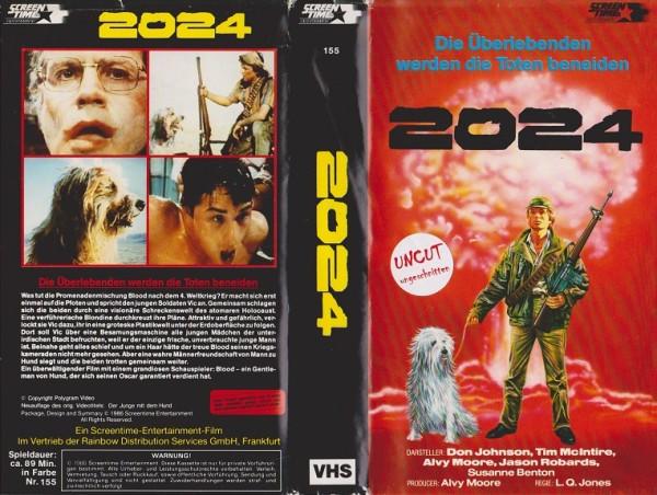 2024 - Die Überlebenden werden die Toten beneiden - Der Junge und seine Hund