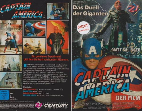 Captain America - Der Film (Hartbox)