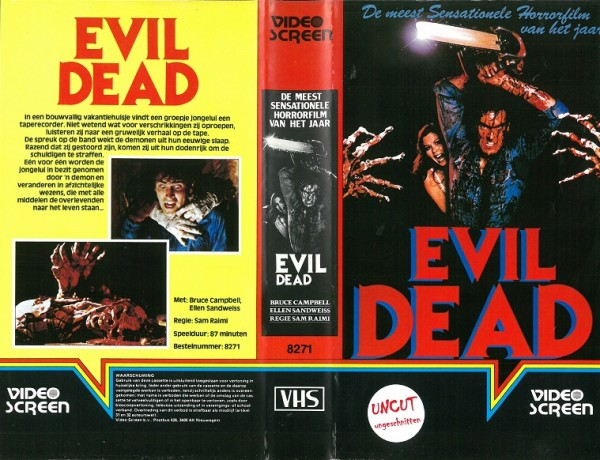 Evil Dead - Tanz der Teufel (Video Screen NL Import)