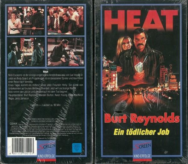 Heat - Ein tödlicher Job (Screen Pappschuber) NEU, OVP