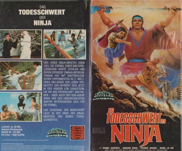 Todesschwert der Ninja, Das - American Commando Ninja (Hartbox)