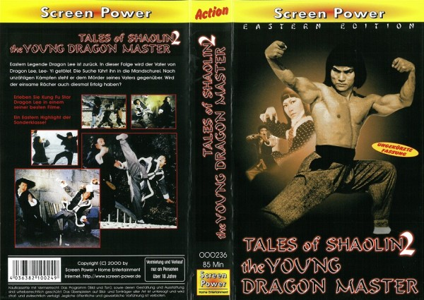 Tales of Shaolin 2 - Young Master - Dragon Lee (Screen Power)