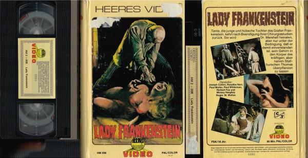 Lady Frankenstein (Hartbox)