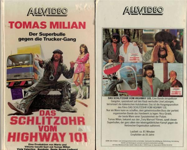 Schlitzohr Vom Highway 101 Das Hartbox Action Videokassetten Aller Genres Ohne Indizierte Film Retro Shop De