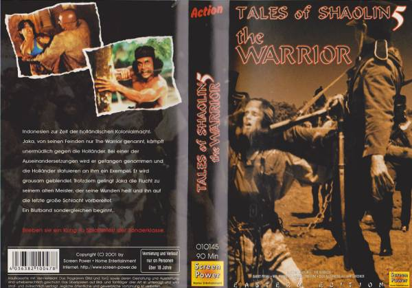 Tales of Shaolin 5 - Jaka - Der Rebell - The Warrior