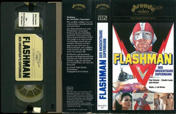Flashman - Der Unsichtbare (Arcade Glasbox)