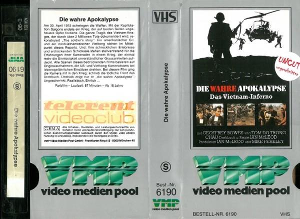 wahre Apokalypse, Die - Das Vietnam-Inferno (VMP Glasbox - Telerent)