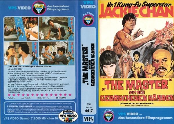 Master mit den gebrochenen Händen, The - Jackie Chan (VPS klein)