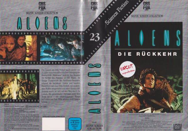 Aliens - Die Rückkehr (Silver Screen)