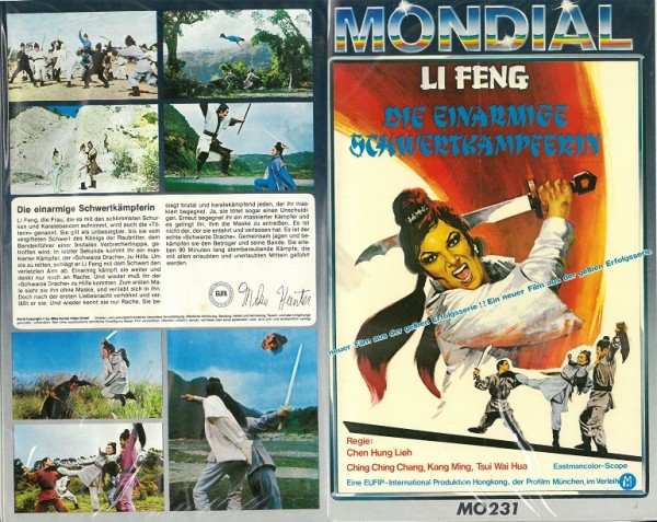 Li Feng - Die einarmige Schwertkämpferin (Mondial)