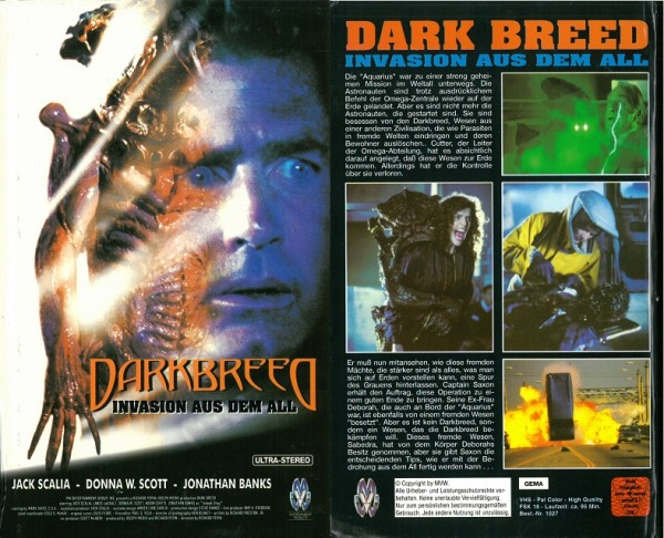 Dark Breed - Invasion aus dem All (Hartbox)
