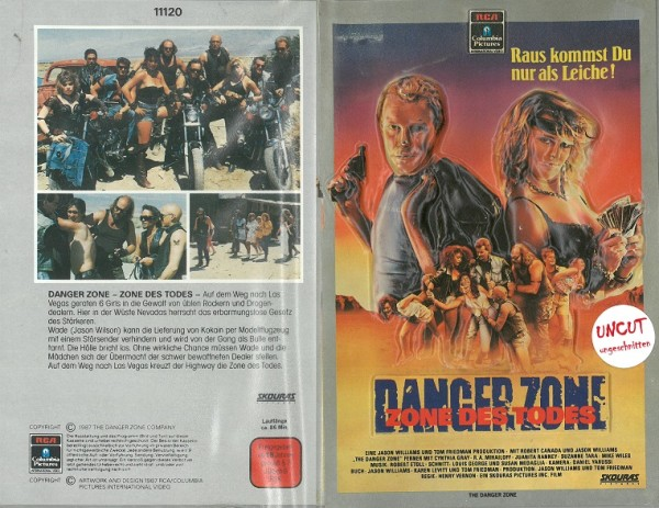Danger Zone - Zone des Todes (3 D Hartbox)