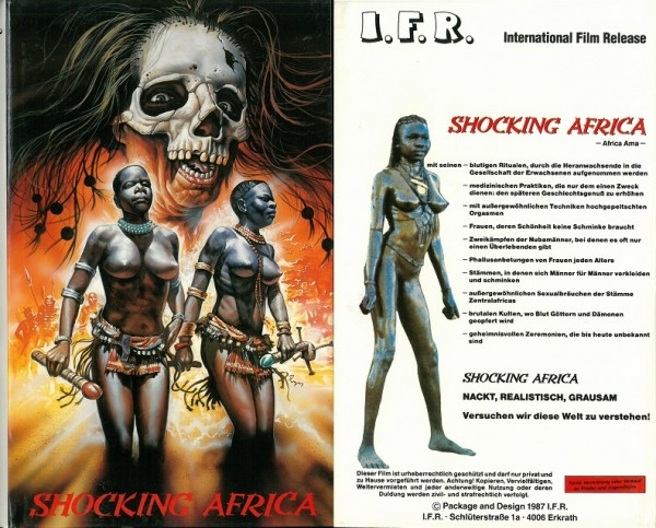 Shocking Africa (leere Hartbox - NEUWARE!)