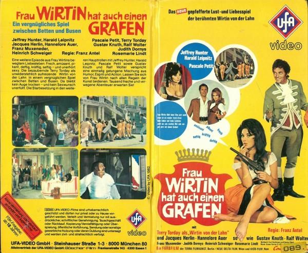 Frau Wirtin hat auch einen Grafen (Hartbox VK)