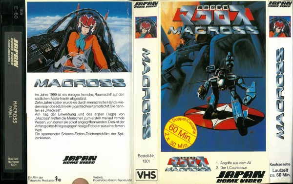 Macross (Japan Video Pappschuber)