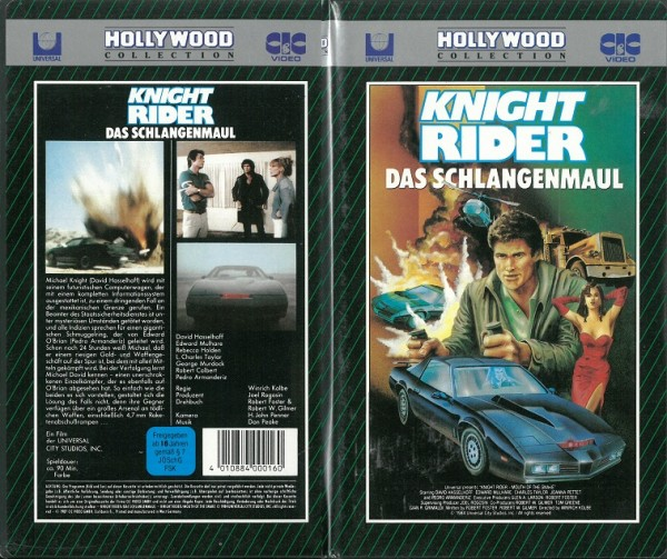 Knight Rider - Das Schlangenmaul (Hollywood Collection) NEU