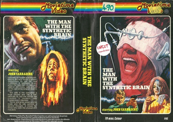 Man with the synthetic brain, The (Movietime Video UK Import)