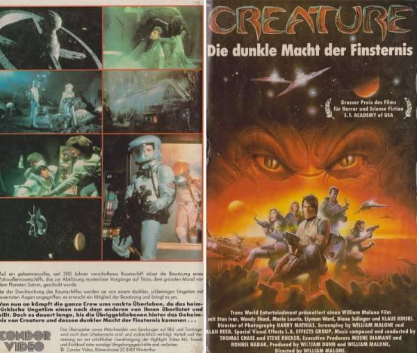 Creature - Die dunkle Macht der Finsternis (Hartbox)