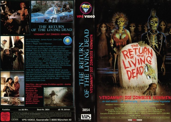 Return of the Living Dead, The - Verdammt, die Zombies kommen
