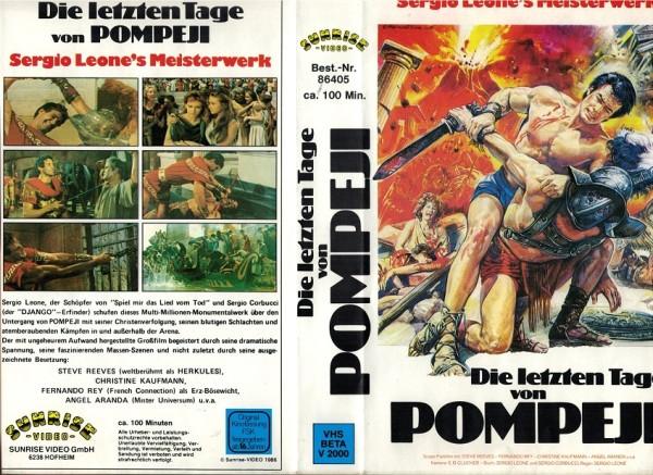 letzten Tage von Pompeji, Die (Sunrise)