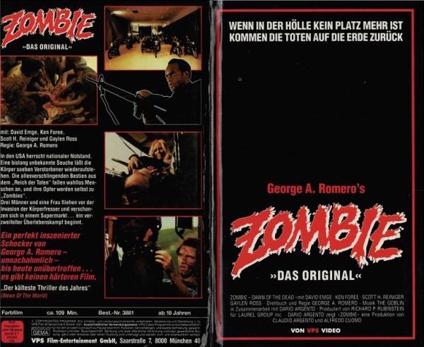 Zombie - Das Original - Dawn of the dead (Hartbox)